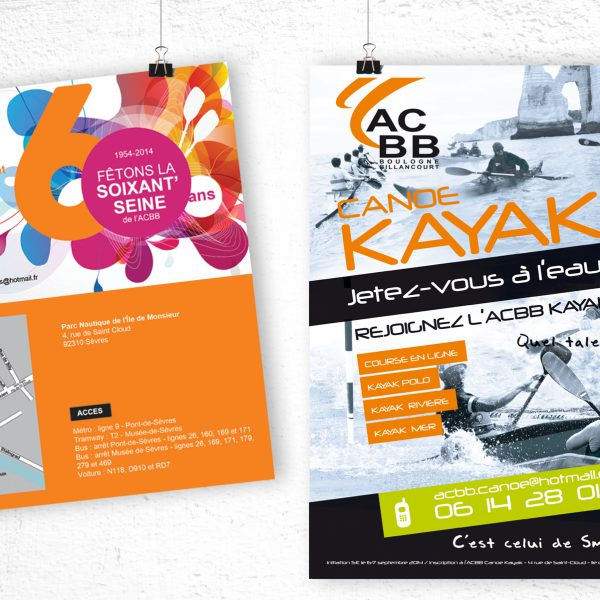 Affiches Acbb Canoe Kayak