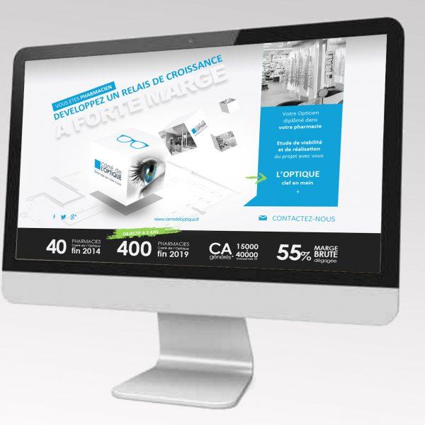 Site Pharmacien Carre de l'optique