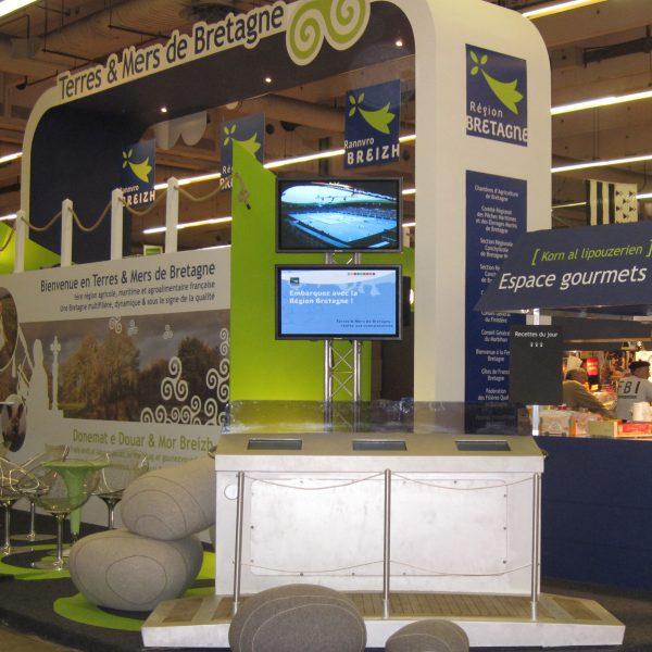 Stand Region Bretagne Salon de l'agriculture